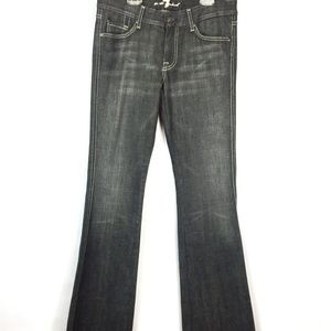 7 For All Mankind A Pocket Bootcut Jeans - Sz 30